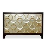Table de console de conception européenne Meuble de rangement en bois de luxe en bois