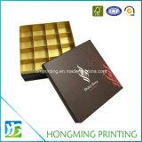 El papel de impresión en color blanco del divisor de cajas de chocolate
