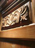 Porte en bois solide pour l'entrée ou l'intérieur (DS-021)