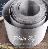Paño de alambre del filtro del acero inoxidable 304