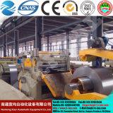 Bobina d'acciaio galvanizzata inossidabile laminata a caldo tagliata alla riga serie di lunghezza della macchina Tq44k