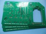 HASL緑のSoldermaskの二重味方されたPCBのボードFr4