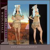 Indische Kostuums van Cosplay van de Vrouwen van de Partij van Kerstmis van Halloween Carnaval de Sexy (TLQZ3023)