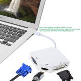 MiniDP van de Verschijning van de Cobra aan Adapter VGA+HDMI+DVI