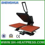 Double machine semi automatique de presse de la chaleur de T-shirt de plaque de vente chaude à vendre