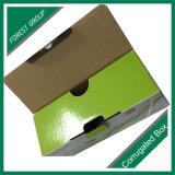Ebene gepackter Entwurfs-bunter gedruckter gewölbter Kasten