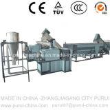 Máquina que exprime plástica para el lavado agrícola de la película