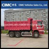 Euro 2 371CV Sinotruk HOWO Camión Volquete 6X4