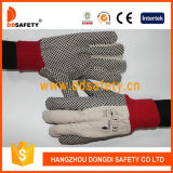 Ddsafety 2017 White Polka DOT Glove