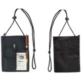 New Style Nylon Polyester Neck Cord Travel Wallet (NW-306)
