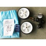 компрессор воздуха 2X600W 50L миниый Oilless Portalbe Oil-Free молчком