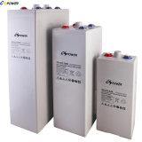 Bateria acidificada ao chumbo da bateria super do gel da bateria do UPS da bateria solar de Opzv 2V1500ah da longa vida