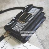 女性ショッピングSy8152のための豪華な縞のCrossbody袋の高品質PUのショルダー・バッグ