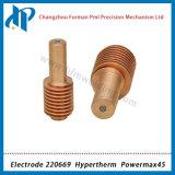 Elektrode 220669 voor Powermax 45 Verbruiksgoederen van de Scherpe Toorts van het Plasma 45A