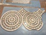 Patrón de lujo de estilo chino Waterjet mosaico de mármol