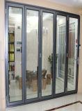 Preços de dobramento da porta do pátio de Windows das portas de alumínio