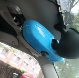 De blauwe Dekking van de Spiegel van de Kleur Binnenlandse voor Mini Cooper