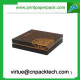 Коробка подарка бумаги картона твердого плеча высокого качества косметическая