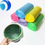 De gekleurde Voering van de Vuilnisbak van de Vuilniszak van het Huishouden Plastic op Broodje