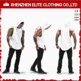 Venda por grosso de Forma Comum Branco baratas Ginásio Camisolas interiores (ELTVI-8)