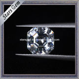 Sparkle Asscher Cut 8x8mm Moissanite pedra solta