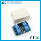 регулятор переключателя дистанционного управления двери 433MHz RF гаража каналов 12V 4