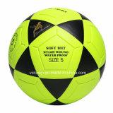 Ballon de football fluorescent étanche aux couleurs brillantes
