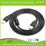 Angle droit USB Am to Am Cable