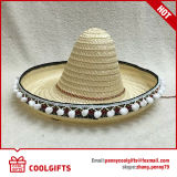 Chapeau de paille en bambou normal de 100% Mexique