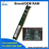 Het Geheugen van de RAM PC2-6400 2GB DDR2 800MHz van de lage Dichtheid 800D2N6/2G