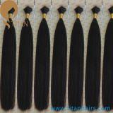 Massa indiana naturale dei capelli umani di Remy del Virgin della cuticola corretta