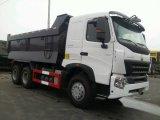 Volvoのダンプボックスが付いているHOWO A7 6X4のダンプカートラック