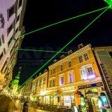Oriëntatiepunt van de Laser van de hoge Macht het Groene Openlucht Bewegende Hoofd