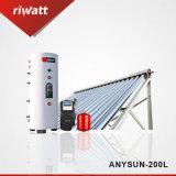 200L вакуумной трубки Split солнечный водонагреватель под давлением