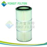 Cartucho de filtro de aire en condiciones de servidumbre Poliéster Spun Forst