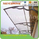 Mejora de la ventana y puerta toldos Canopy Toldos de bricolaje con policarbonato 150cmx300cm.
