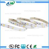 5050 tiras flexíveis brancas brancas e mornas claras do diodo emissor de luz