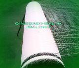 1.23mx2000m Balle Blanc Matériau de liage filet