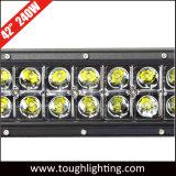 고성능 세륨 RoHS 40 인치 240W는 Offroad 크리 사람 LED 표시등 막대 줄 Offroad 트럭 ATV UTV를 위한 이중으로 한다