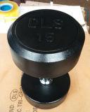 Dumbbell de borracha fixo da qualidade superior (SA03)