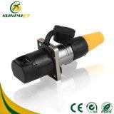 低周波250V 5-15A PCBの防水自動電気コネクタ
