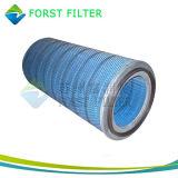 Патрон целлулоидного фильтра компрессора воздуха газовой турбины Forst плиссированный