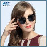 2018 lunettes de soleil de plot réflectorisé de femmes de lunettes de soleil de qualité