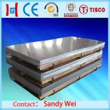 Placa DIN1.4301 de aço inoxidável