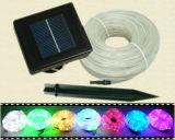 Wasserdichtes LED-Solargefäß-im Freien dekorative Seil-Lichter