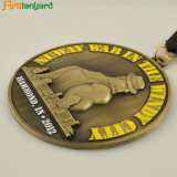 リボンが付いている工場価格のカスタムメダル