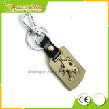 Keyring de encargo vendedor caliente al por mayor del metal con la marca de fábrica Keychain, promoción barata del coche de la insignia del coche de la fábrica de Professiona de la fábrica