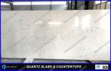 Prix en pierre blanc conçu neuf de partie supérieure du comptoir de matériau de construction