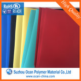 Folha plástica do PVC da cor para a formação do vácuo