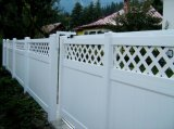 Cerca hermosa y Ce certificada del PVC de la yarda